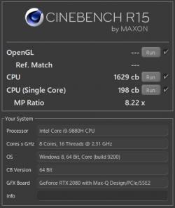 OMEN X 2S 15_core i9-9880H_CINEBENCH R15_01t