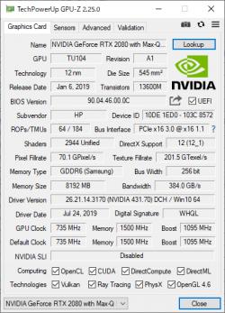OMEN X 2S 15_RTX 2080 Max-Q_GPU-Z_01