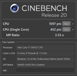 core i7-1065G7_CINEBENCH R20_02t