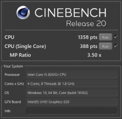 Core i5-8265U_CINEBENCH R20_03t