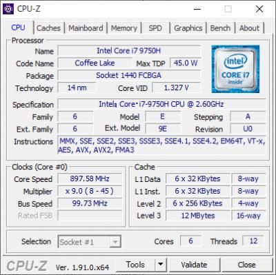 Core i7-9750H_CPU-Z_01