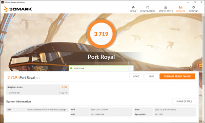 RTX 2070 Max-Q_Port Royal_01