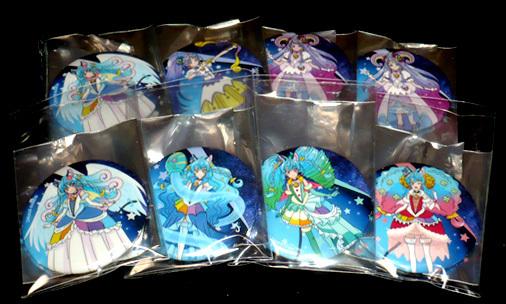 スター☆トゥインクルプリキュア展示 in スカイガーデン 12星座デザイン缶バッチ