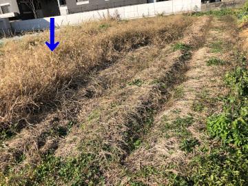 畝作り4畝マルチ張り2