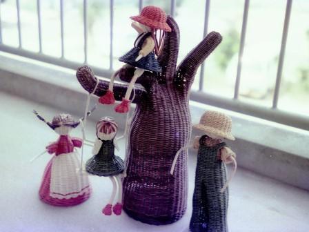 籐作品 メルヘン人形