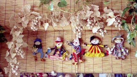 籐作品 ぶどうの壁飾り