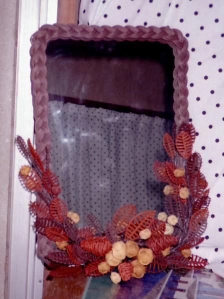 籐作品 鏡飾り