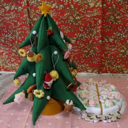 クリスマスツリー B & ケーキ