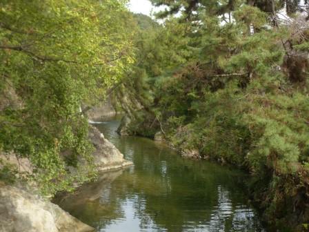 岩堰橋からの眺め 2