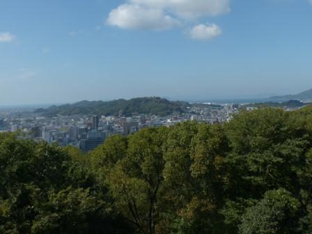 本丸広場からの眺め 2