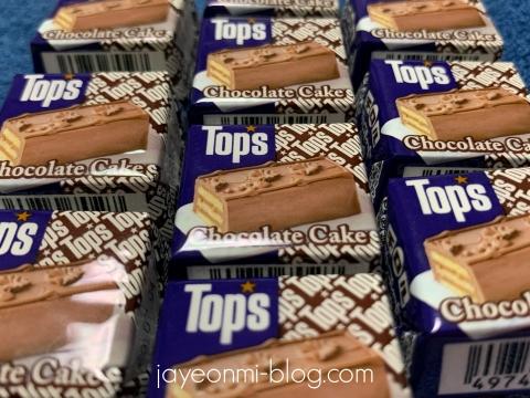 チロルチョコ_チョコレートケーキ_TOPS_2