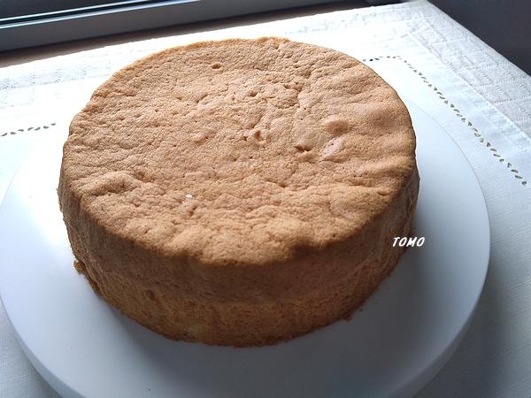 米粉と米油でスポンジケーキ