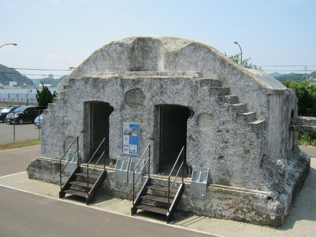 第3海堡砲側弾庫 (2)