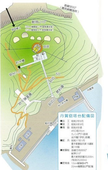 丹賀砲台パンフレット