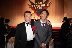 200217 NARグランプリ 高月賢一調教師と優馬厩務員