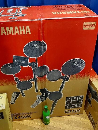 YAMAHA電子ドラムDTX452KUPGS (2)