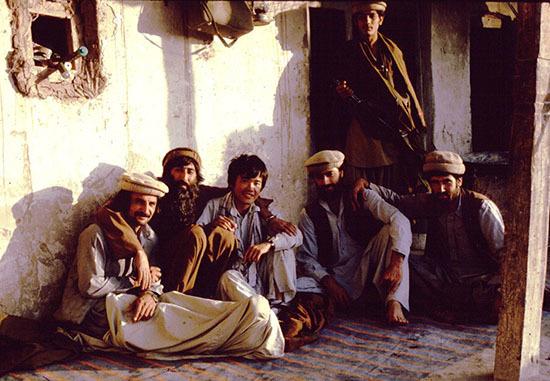 自画像アフガンs