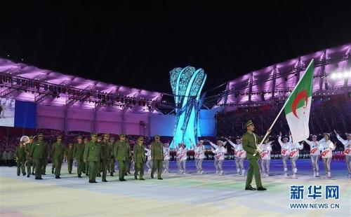 世界軍人運動会が武漢で - 青いらんくる♪