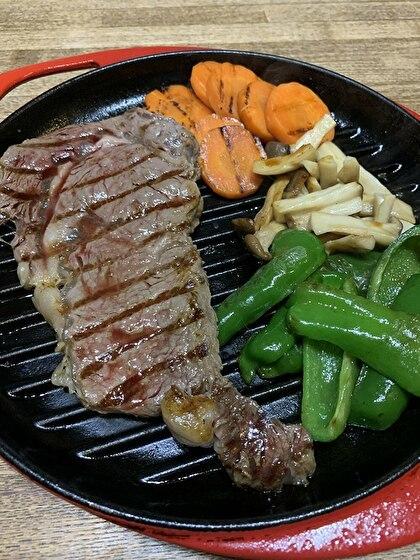 牛さんのステーキ