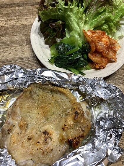 鶏モモ肉のグリル焼き