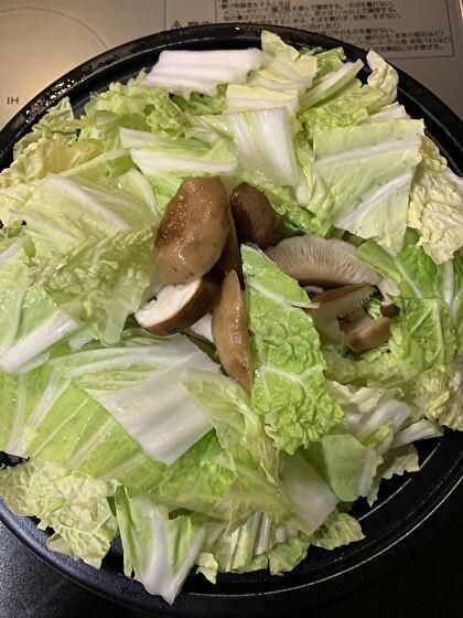 豚肉と白菜の蒸し煮
