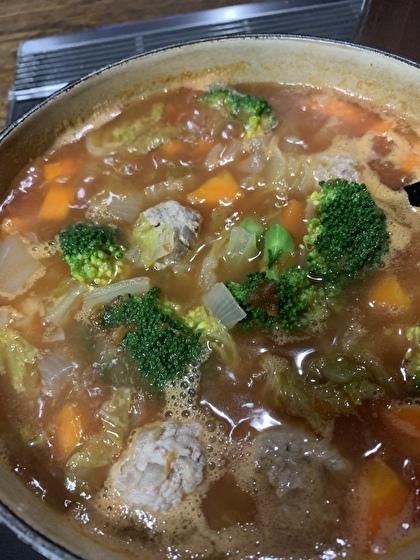 ミートボールトマトスープ