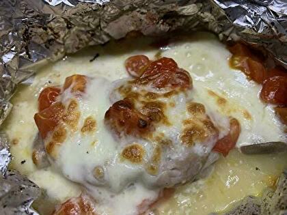 チーズをかけて5分焼いて完成