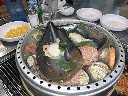 貝鍋が、、、美味しそう~!