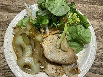 豚肉と玉葱のソテー