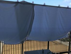 【マンションベランダ開拓】 マンションベランダでは「シーツ」をタープにする? ベランダをキャンプ場のような「くつろぎ空間」にする!