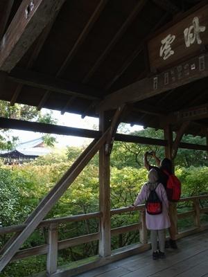 東福寺通天橋を眺める1911