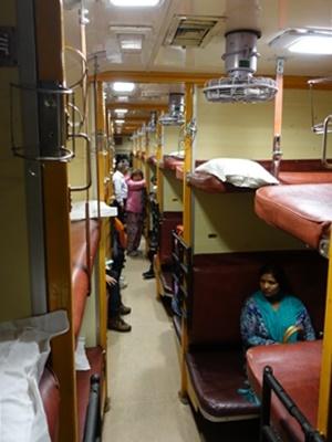 インド寝台列車1912