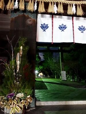 夜の御香宮神社2001