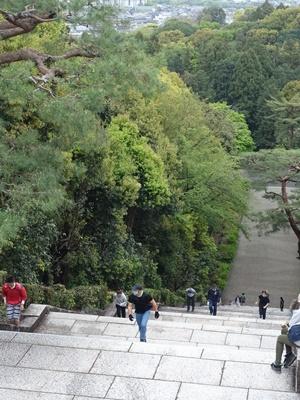 御陵さん大階段2004