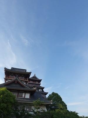 桃山城と青空2005