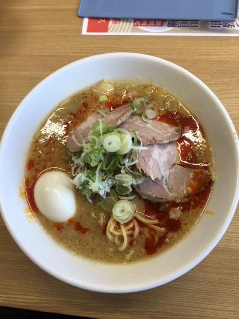ラーメン山・担々麺(脂普通)