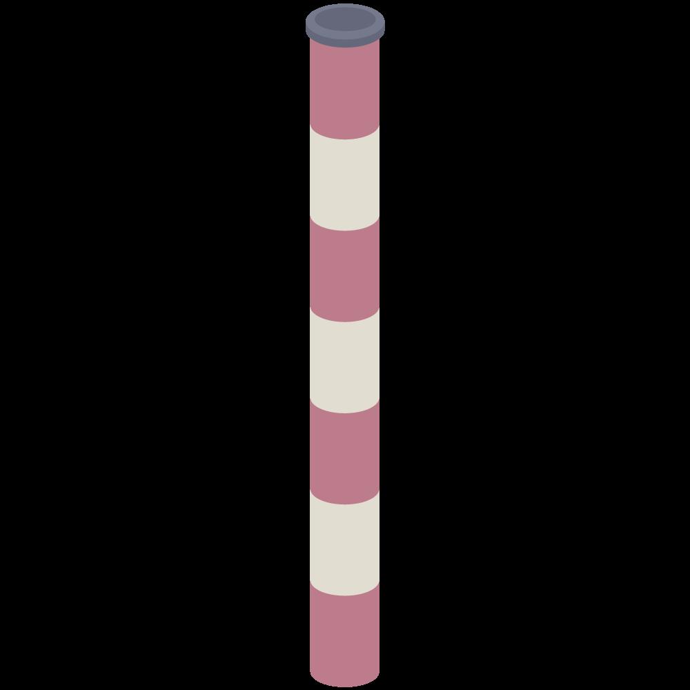 アイソメトリックの工場煙突のイラスト