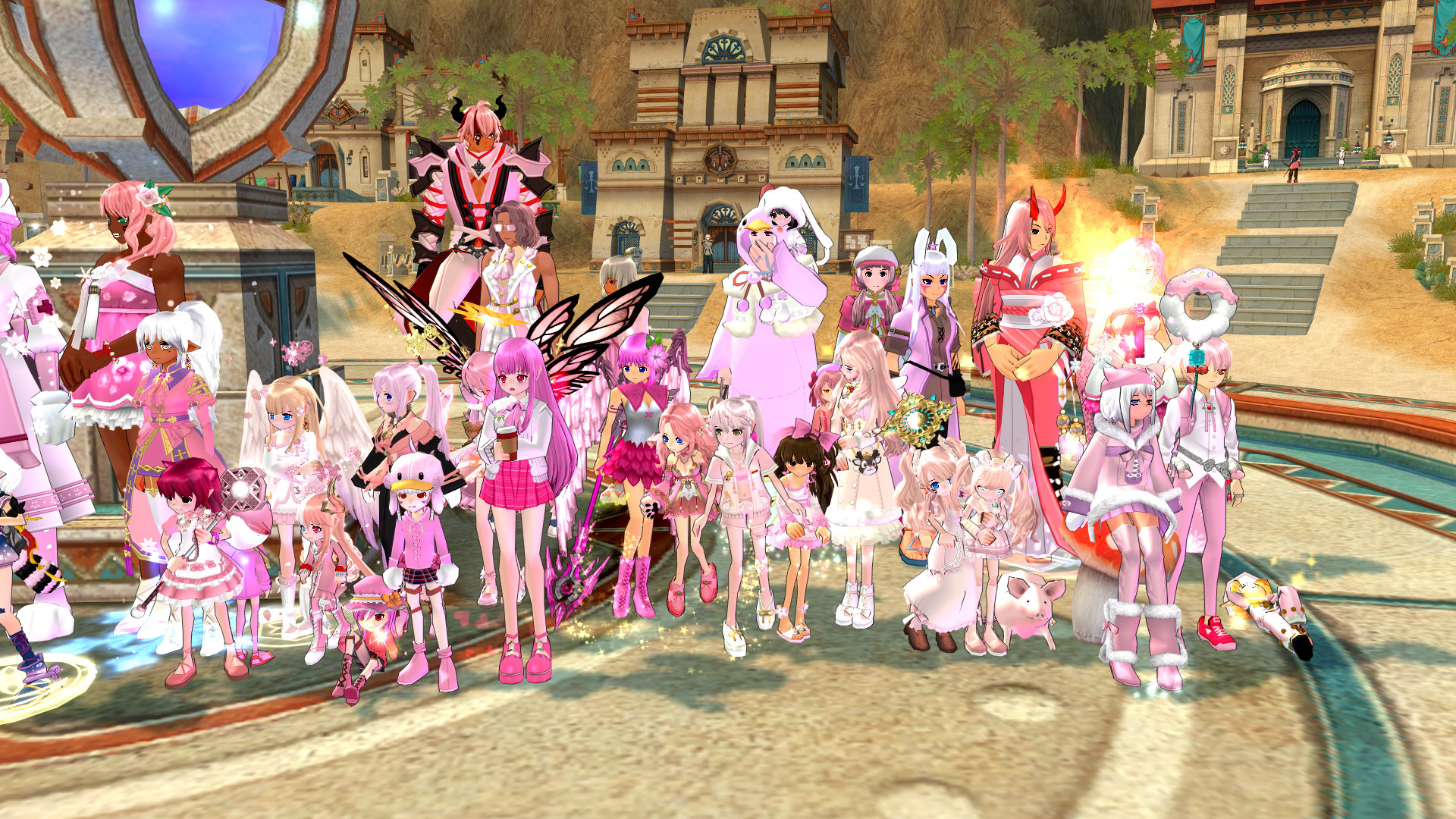 ピンク撮影会13