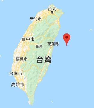 台湾沖地震