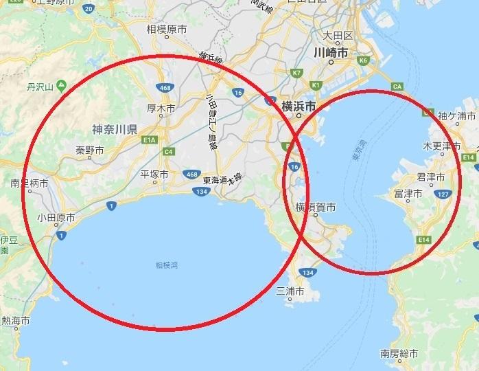 神奈川2つ