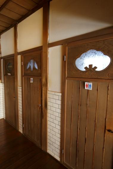 旧川本家住宅・1階便所