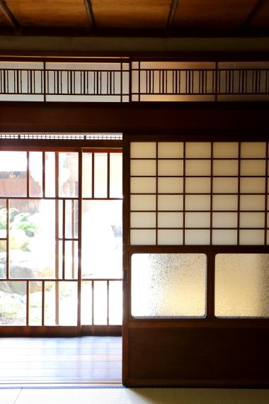 旧川本家住宅・1階大広間