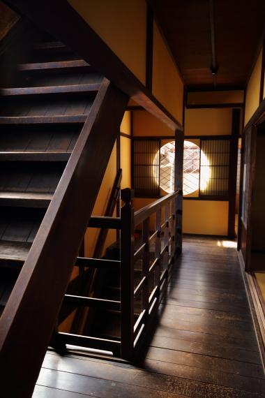 旧川本家住宅・2階階段