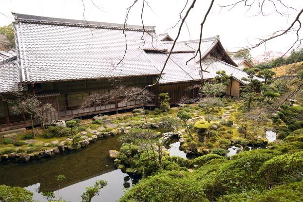 當麻寺西南院・書院と庭園