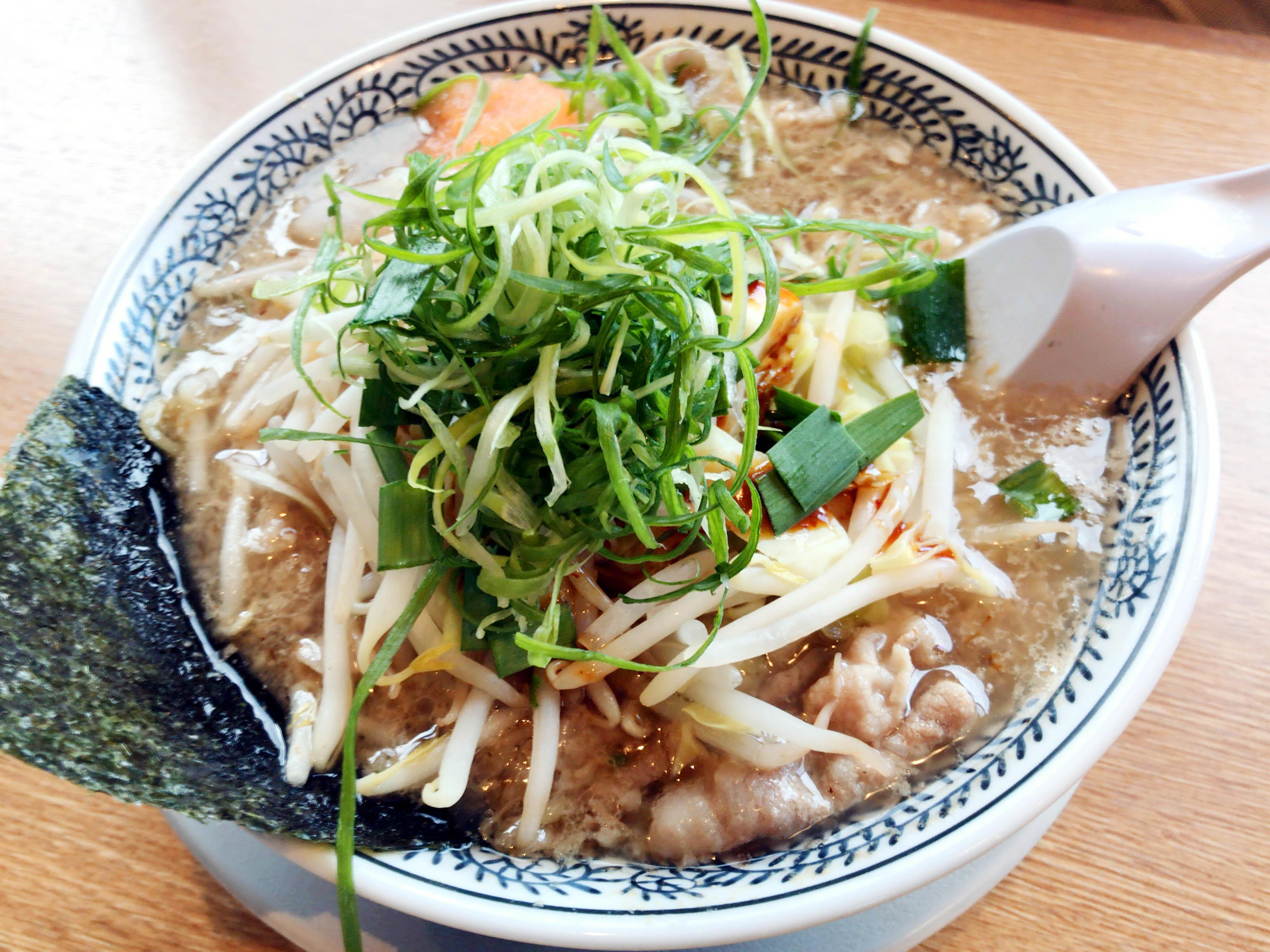 肉ねぎそば 780円(税抜)