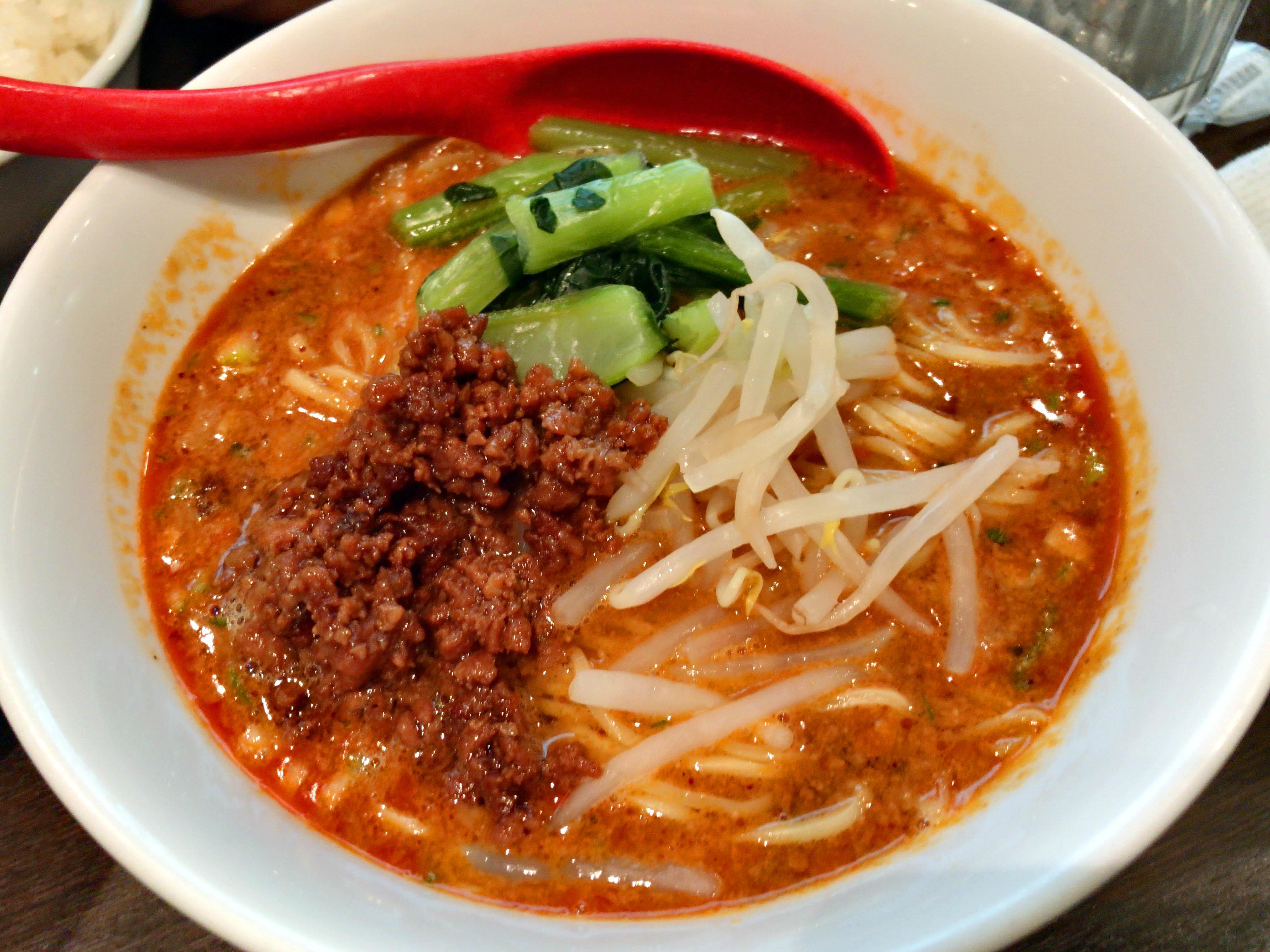 担々麺(ご飯付き) 900円