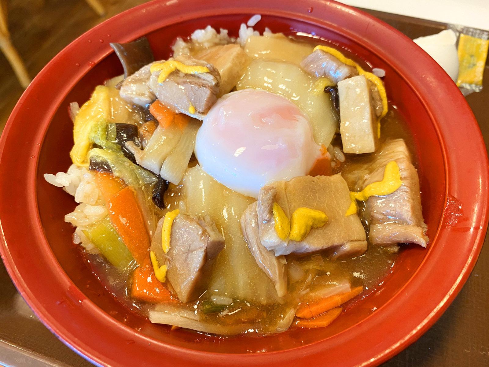 とろうま豚中華丼(おんたまオン)