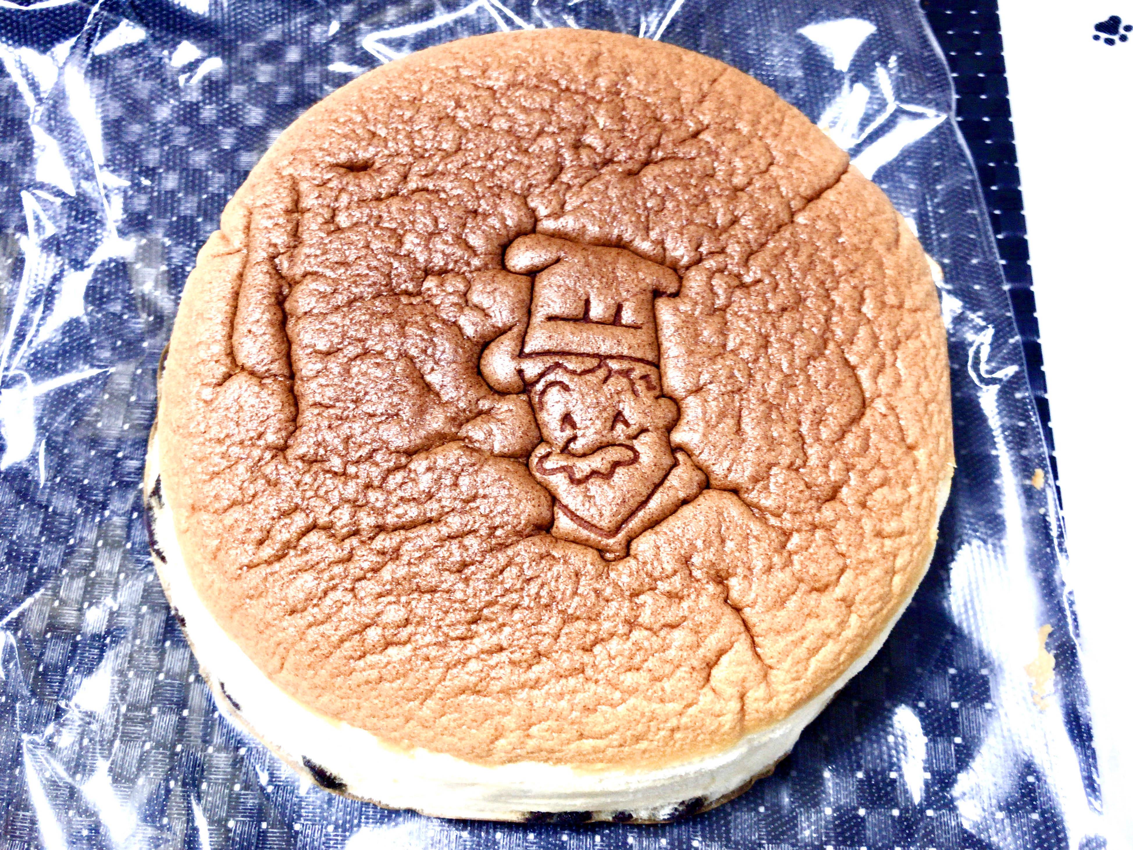 一晩寝かせたチーズケーキ