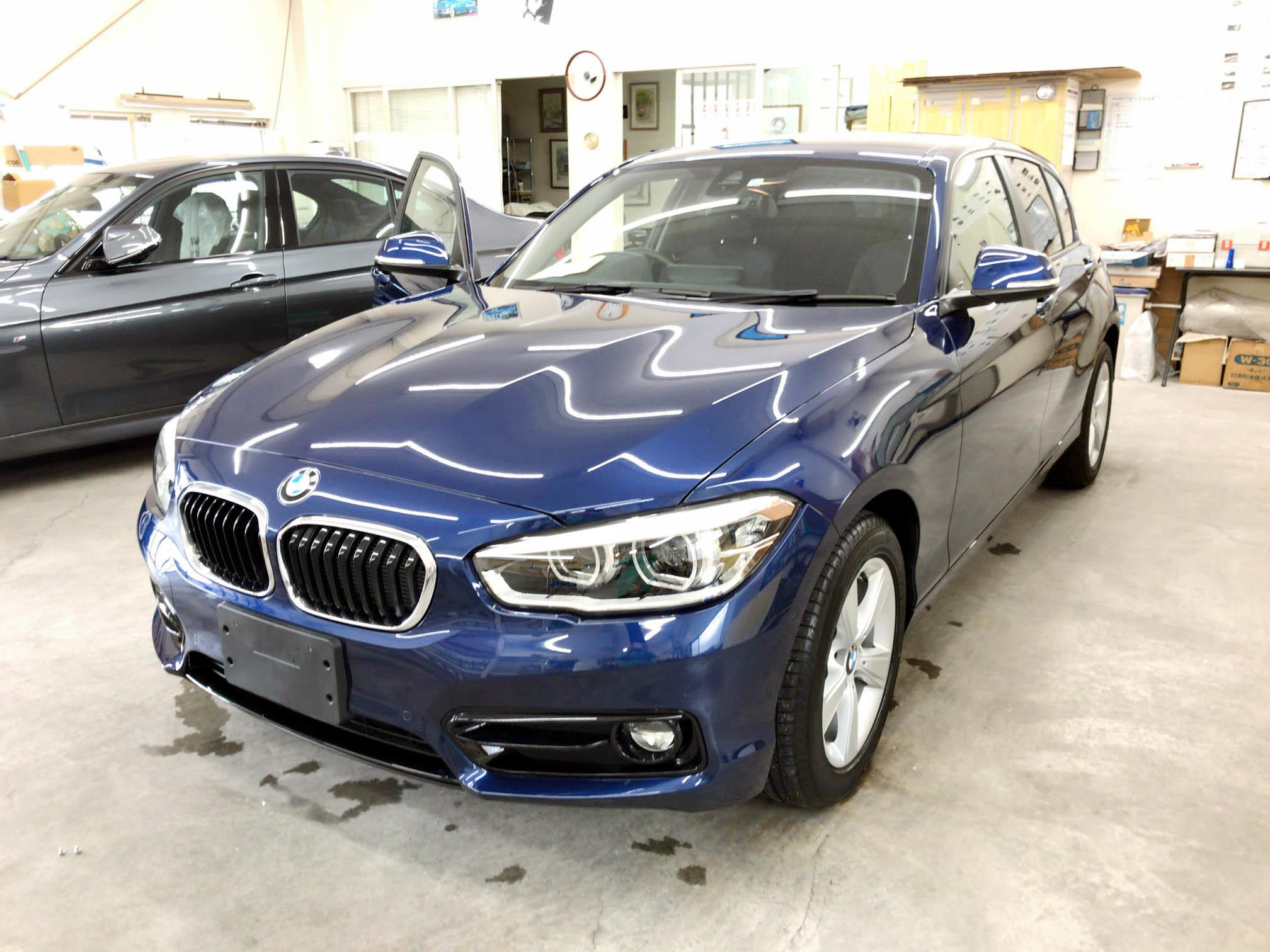 BMW 1シリーズ(F20)@フロント