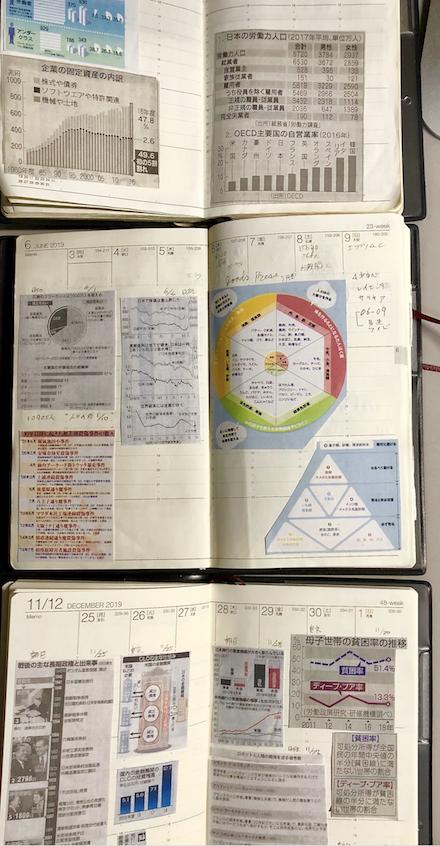 データ管理手帳クラップ